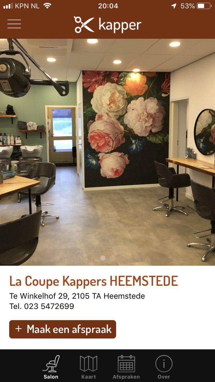 kapper app